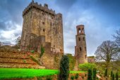 Medieval Blarney Castle in Ireland — Stock Photo