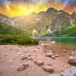 Tatra mountains at sunset, Poland — Stock Photo #56466121