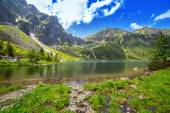 Beutiful Tatra mountains in Poland — Stock Photo