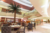 Luxe hotel interieur — Stockfoto