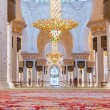 Interior of Sheikh Zayed Grand Mosque in Abu Dhabi — Stock Photo #57061879