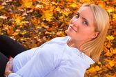 Güzel bir hamile kadın portresi — Stok fotoğraf