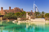 Madinat Jumeirah resort in Dubai — Stock Photo