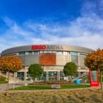 Ergo Arena building in Gdansk, Poland — Stock Photo #58020967