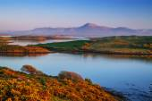 Mulranny bay at sunset in Ireland — Stock Photo
