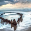 The Sunbeam ship wreck on the beach in Ireland — Stock Photo #59261805
