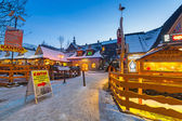 Krupowki street in Zakopane at winter time, Poland — ストック写真