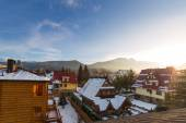 Zakopane in Tatra mountains at winter time — 图库照片