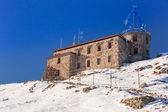Meteorology station in Tatra mountains — Stock Photo