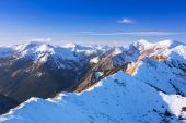 Tatra mountains in snowy winter time, Poland — Foto Stock
