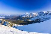 Tatra mountains in snowy winter time, Poland — ストック写真
