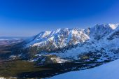 Tatra mountains in snowy winter time, Poland — Foto de Stock
