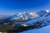 Tatra mountains in snowy winter time, Poland — Stok fotoğraf