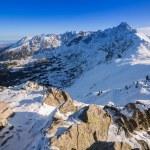Tatra mountains in snowy winter time, Poland — Stock Photo #60327803