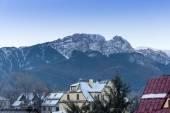 Zakopane in Tatra mountains at winter time — Stock Photo