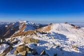 Tatra mountains in snowy winter time, Poland — Stock Photo
