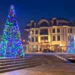 Christmas decoration on the street in Zakopane — Stock Photo #60546201