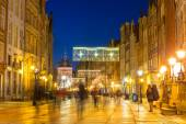 Historical architecture of the old town in Gdansk — Stock Photo