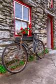 Irish cottage house — Stock Photo