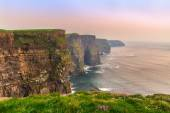 Cliffs of Moher at sunset, Ireland — Stock Photo