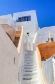 White architecture details of Santorini island — Stock Photo