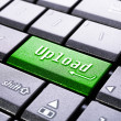 Upload button on the computer — Stock Photo #63692979