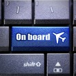 On board button — Stock Photo #64226703