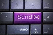 Email send button — Stock Photo