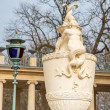 Baroque statue in Royal Baths Park, Warsaw — Stock Photo #66694883