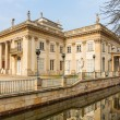 Palace on the Water in Royal Baths Park of Warsaw — Stock Photo #66695383
