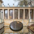 Palace on the Water in Royal Baths Park of Warsaw — Stock Photo #66695513