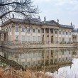Palace on the Water in Royal Baths Park of Warsaw — Stock Photo #66695615