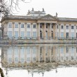 Palace on the Water in Royal Baths Park of Warsaw — Stock Photo #66695665