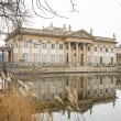 Palace on the Water in Royal Baths Park of Warsaw — Stock Photo #69382729