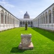 Architecture of Monumental Cemetery in Pisa — Stock Photo #70720907