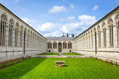 Architecture of Monumental Cemetery in Pisa — Stock Photo