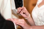 Wedding rings — Zdjęcie stockowe