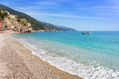 Monterosso Beach at Ligurian Sea — Stock Photo