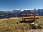 Bench With A View — Stock Photo