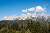 Mountain landscape with blue sky above, Austria — Stock Photo
