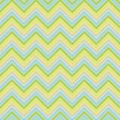 Seamless colorful geometric zigzag pattern in retro colors — Stock Photo #55298579