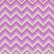 Seamless colorful geometric zigzag pattern in retro colors  — Stock Photo #55298729