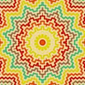 Background with bright geometric star, sun — Stockfoto