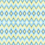 Abstract blue - yellow seamless zigzag pattern — Stock Photo #58100269