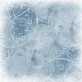 Abstract vintage clock background — Stock Photo