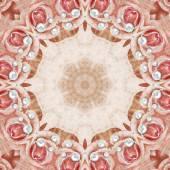 Beautiful Pearls Mandala Background — Stock Photo