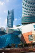 Shopping mall in Warsaw City Golden Terraces (Zlote Tarasy) — Stock Photo