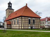 Church in Pisz — ストック写真