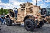 Mine resistant ambush protected Oshkosh M-ATV vehicle — Stock Photo