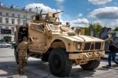 Mine-resistant vehicle Oshkosh M-ATV — Stockfoto